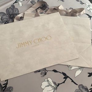 Jimmy Choo paper shipping bags*2 new genuine